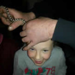 Crazy Creatures North East - Children Having Fun with baby Corn Snake